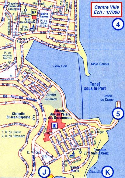 plan de bastia - Image